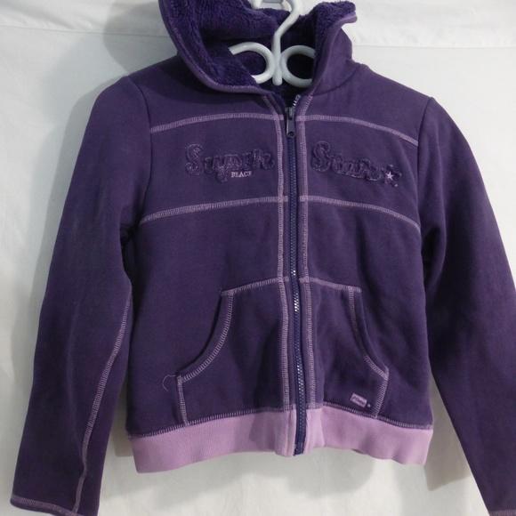 CHILDREN'S PLACE zip up jacket with hoodie 10/ 12